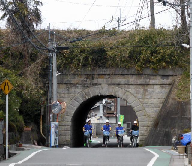 由良谷川隧道1