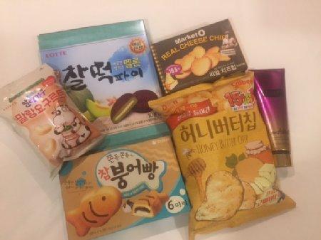 韓国お菓子たくさん
