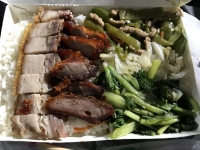 叉燒燒肉飯170511