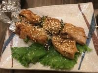 豚肉串焼き170513
