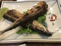 秋刀魚塩焼き170513