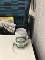 新幹線ではビール170628