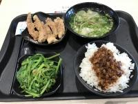 排骨と魯肉飯セット170703