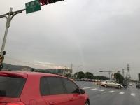 虹だ170704