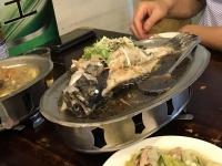 蒸し魚170708