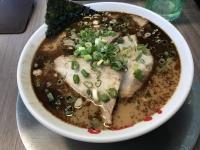 黑蒜香油叉燒拉麵(ニンニクマー油チャーシュー麺170712