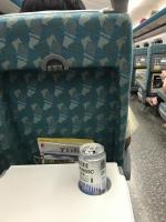 帰りの新幹線でヤケ酒170725
