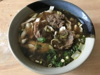 刀削牛肉麺170731