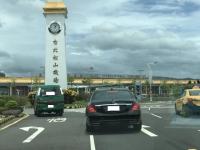 台北松山空港170822