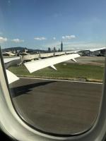 台北に着陸170828