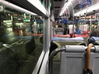 雨の中バスで170901