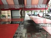 お供え物のテーブル170903