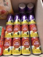 果物替わりのマンゴービールとグレープビール170903