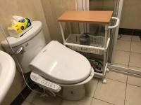 寝室用トイレに設置170903