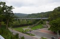 旧鉄橋全景170525