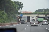 東名大和トンネル渋滞170824