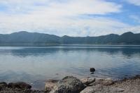 本栖湖対岸170824