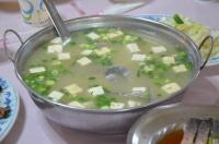 三吃「鯉アラの味噌汁」170520