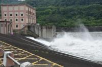 水力発電放水口170520