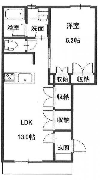■物件番号5061 海4分!超築浅マンション!1LDK!2階カド!日当り最高!9.2万円!先行予約!