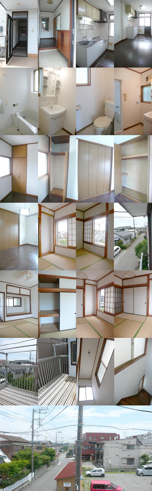 ■住居部分は3Kタイプ!キッチン+洋室6帖+和室4.5帖×2部屋です!!