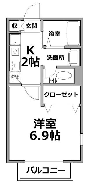 ■物件番号5048 サザンビーチ徒歩4分!海近!格安5万円!設備充実!カド部屋!サーファーにおすすめ!