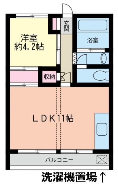 ■物件番号5052 茅ヶ崎駅6分!レトロ1LDKマンション!お手頃5.9万円!4階日当り良好!ペット相談可!