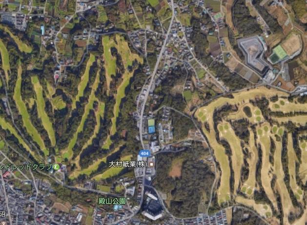 ■山の上につき近隣は住宅が少なくゴルフ場や殿山公園など自然が多いのどかなエリアです!!
