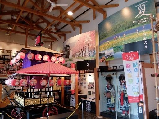 歴史や文化の展示
