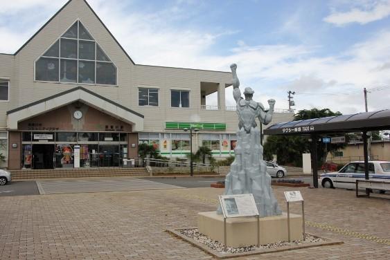 須賀川駅前