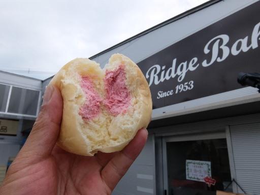 冷やし苺クリームパン