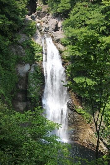 滝見台からの秋保大滝