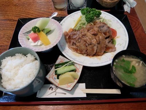 豚肉生姜焼定食