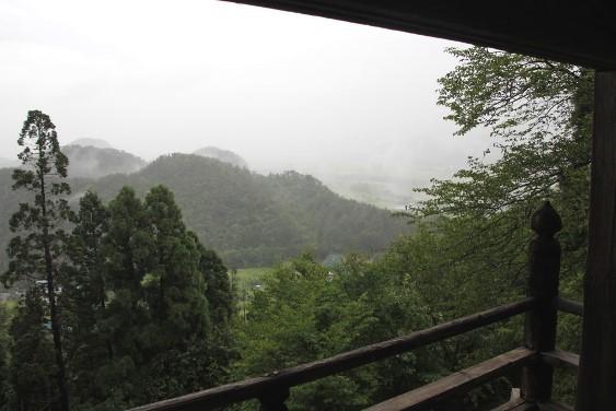 観音堂からの景観