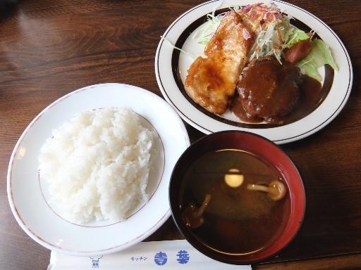 ランチのハンバーグ・生姜焼