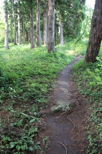 山道の参道