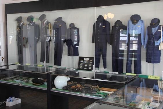 制服の展示