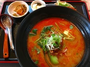 170415奉天飯店@担々麺セット