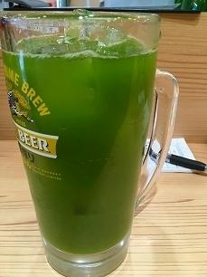 170429晩杯屋@緑茶