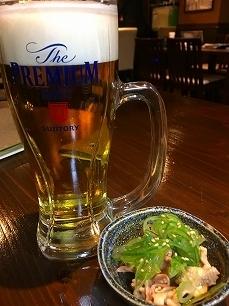 170429鶏と豚@ビール