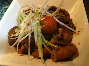 170429鶏と豚@鶏モツ煮