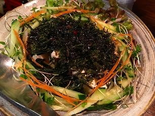 170522須みず@豆腐と岩海苔のサラダ