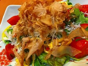 170709はなの舞@出汁で食べるサラダ