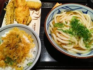 170812丸亀製麺関内@うどん天丼