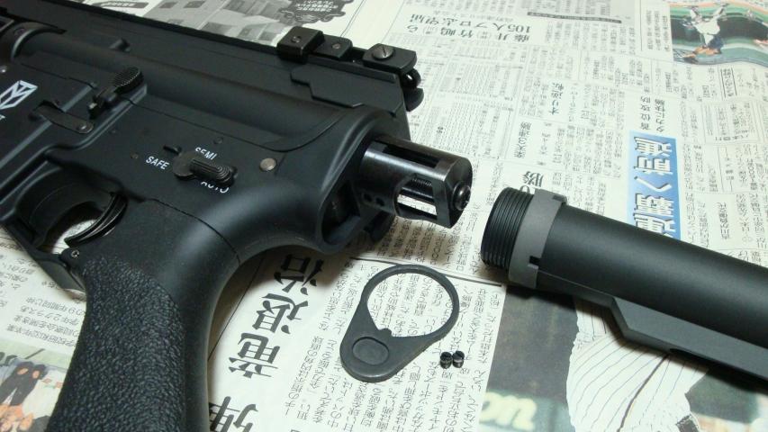 東京マルイのM4パトリオットHCを購入 & ストック取り付け