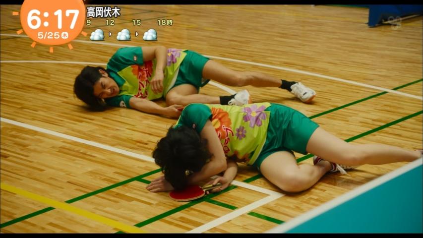「めざましテレビ」新垣結衣