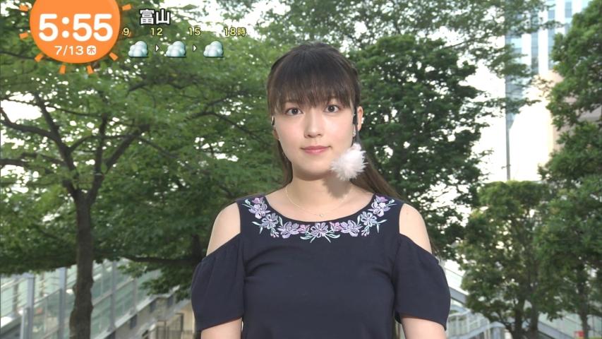 「めざましテレビ」阿部華也子