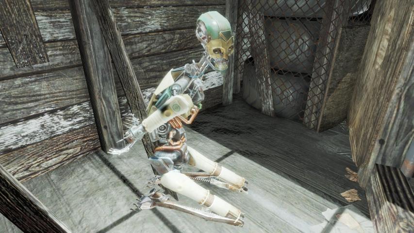 [PS4]フォールアウト4 正座させられてる第一世代人造人間