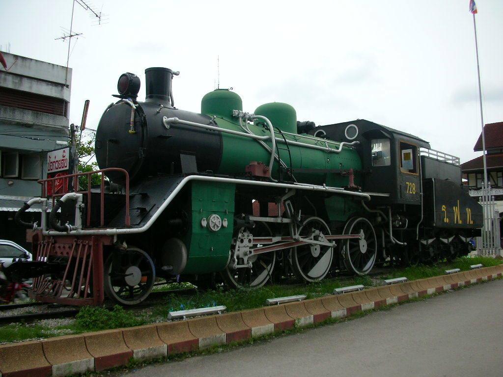 駅蒸気機関車