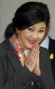 images of PM yingluck